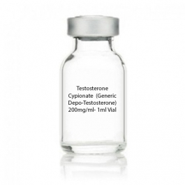 Testosterone Cypionate  (Generic Depo-Testosterone) 200mg/ml- 1ml Vial
