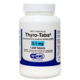 Thyro-Tabs 0.1 mg Tablets