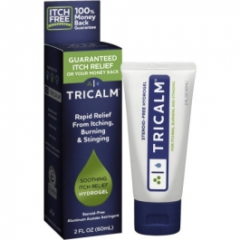 TriCalm Steroid Free Soothing Itch Relief Hydrogel - 2 fl oz