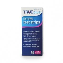 TRUEplus Ketone Test Strips - 50ct