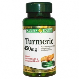 Nature's Bounty Turmeric 450 mg Capsules - 60ct