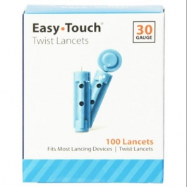 EasyTouch Twist Lancet 30 Gauge - 100ct