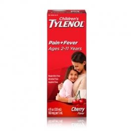 TYLENOL® Children's Pain & Fever, Ages 2-11, Cherry Flavor- 4oz