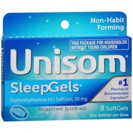 Unisom Nighttime Sleep-Aid Sleep SoftGels - 8ct