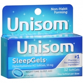 Unisom Max Sleepgels - 32ct