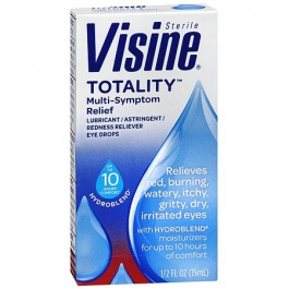 Visine Totality Multi-Symptom Relief Eye Drops- 0.5oz