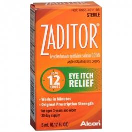 Zaditor Eye Itch Relief Drops- 0.17oz