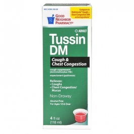 Good Neighbor Pharmacy Tussin DM Syrup 8 oz