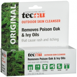 Tecnu Original Outdoor Skin Cleanser for Poison Oak and Ivy - 4oz