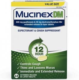Mucinex Dm Expectorant & Cough Suppressant 12hr 68ct