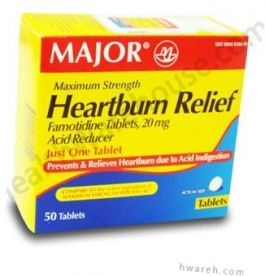Heartburn Relief Maximum Strength - 50 Tablets