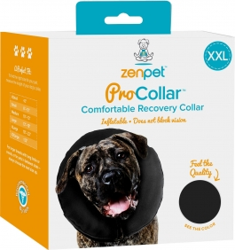 """ProCollar Inflatable Comfort Recovery Collar, Double Extra Large, 22"""" Plus, 1 Collar"""