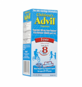 Advil Childrens' Suspension Blue Raspberry Flavored 4oz