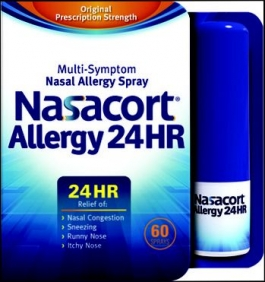 Nasacort  Allergy 24HR 120 Sprays -  0.57oz