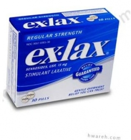 Ex-Lax Regular Strength Stimulant Laxative - 30 pills