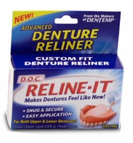 Reline-It D.O.C Denture Reliner 2ct