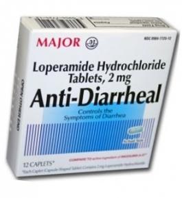 Anti-Diarrheal (Loperamide 2mg) Capsules - 12 Count Box
