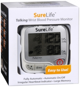 SureLife Premium Wrist Blood Pressure Talking Monitor
