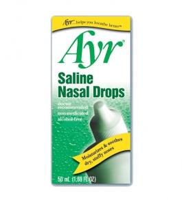 Ayr Saline Nasal Drops - 1.69oz