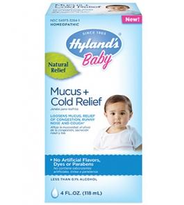 Hylands Baby Mucus & Cold Relief Liquid - 4 fl oz