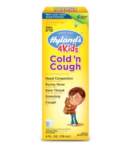Hyland's 4Kids Cold 'n Cough Liquid - 4oz