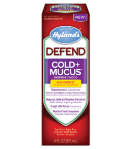 Hyland's Defend Cold+Mucus Liquid - 4oz.