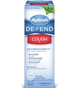 Hyland's Defend Cough Liquid - 4oz.