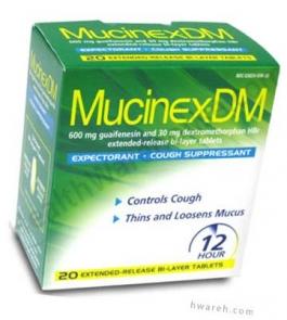 Mucinex DM 12 Hour - 20 Tablets
