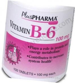 Vitamin B-6 (100mg) - 100 Tablets- DISCONTINUED 7-12