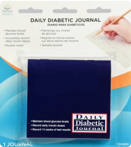 Ezy-Dose Daily Diabetic Journal