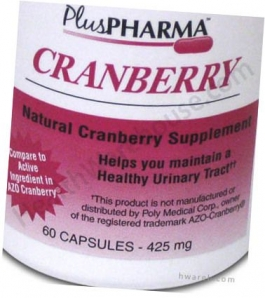 Cranberry (425mg) - 60 Capsules