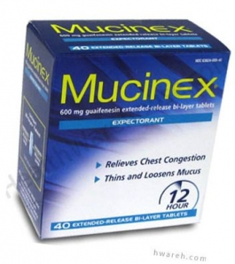 Mucinex 12 Hour - 40 Tablets