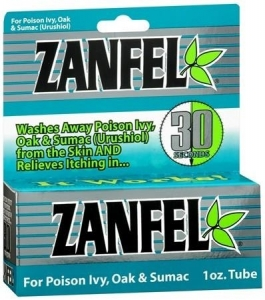 Zanfel Poison Ivy, Oak & Sumac Cream - 1 oz.