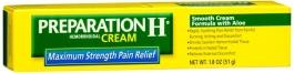 Preparation H Cream 1.8 oz