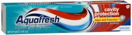 Aquafresh Cavity Protection Tube Cool Mint, 5.6 oz