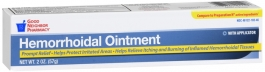 GNP Hemorrhoidal Ointment, 2 oz