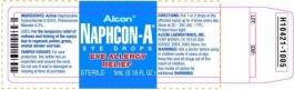 Naphcon-A Opthalmicalmic Solution