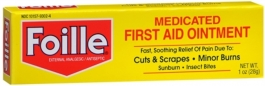 Foille Medicated First Aid Ointment 1oz