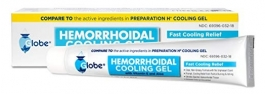 Globe Hemorrhoidal Cooling Gel - 1.8 oz