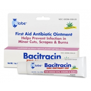 Bacitracin zinc ointment w aloe 1oz tube for Hibiclens for tattoos