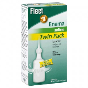 Fleet Enema Adult Twin Pack 9 0oz