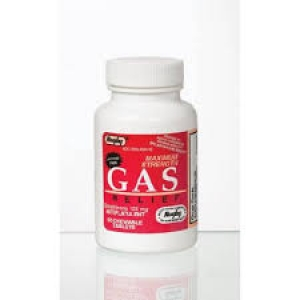 Gas Relief 125mg Chewable Tablets- 60ct