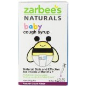 Zarbee S Naturals Baby Cough Syrup Grape 2oz