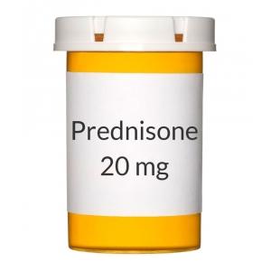 is 20mg of prednisone safe