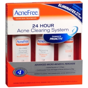 University Medical AcneFree 24 Hour Acne Clearing System ...