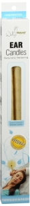 Wally's Unscented Beeswax Ear Candle 2ct