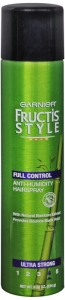 Garnier Fructis Style Full Control Anti-Humidity Hairspray With Bamboo Extract Ultra Stong 8.25 oz