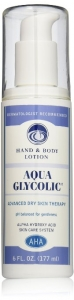 Aqua Glycolic Hand & Body Lotion - 6oz