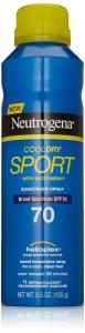 Neutrogena CoolDry Sport Sunscreen Spray SPF 70 - 5.5 oz