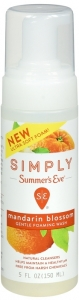 Simply Summer's Eve Mandarin Blossom Cleansing Foam - 5oz
